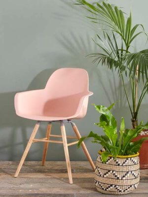 Albert pink chair