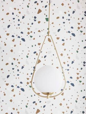White Glass_Brass_Pendant_Light