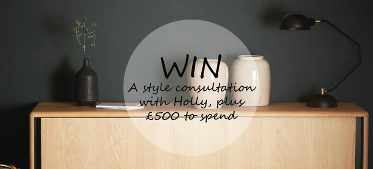 Win a style consultation with Holly plus £500 to spend